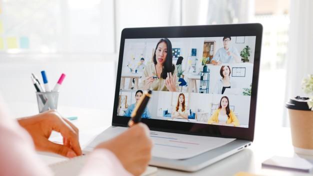 home office reuniões online